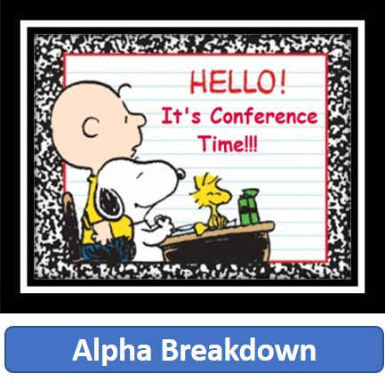 Hello! It's Conference Time!!!